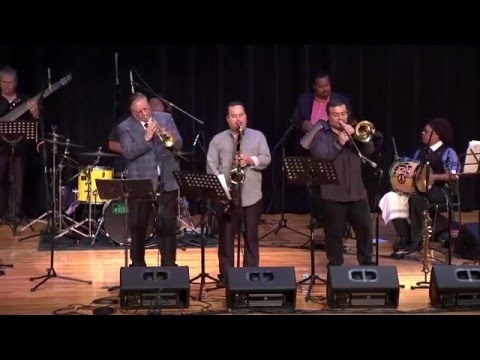 Tribute to Mario Rivera at the 2015 South Florida Dominican Jazz Fest