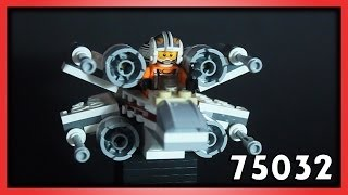 LEGO Microfighters X-Wing Fighter Review Set 75032 Обзор Лего