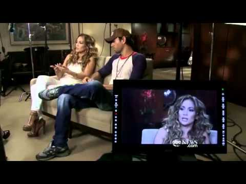 Enrique Iglesias & JLo & Casper Smart GMA Interview + Enrique JLo Tour Backstage (2012)
