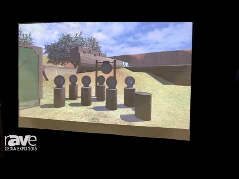 CEDIA 2015: Laser Shot Demos Its Training Shooting Simulator