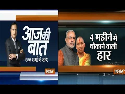 Aaj Ki baat with Rajat Sharma September 16, 2014: BJP's string of bypoll losses continues