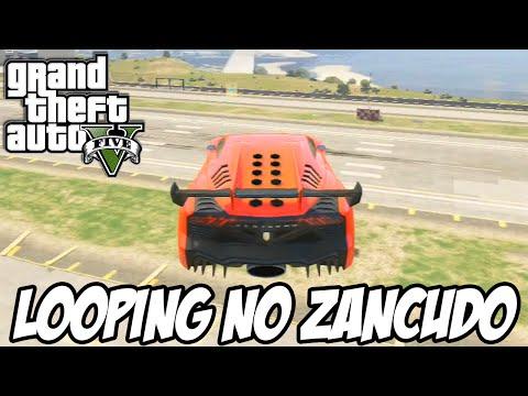GTA V - Meio Looping no Forte Zancudo CORRIDA SENSACIONAL