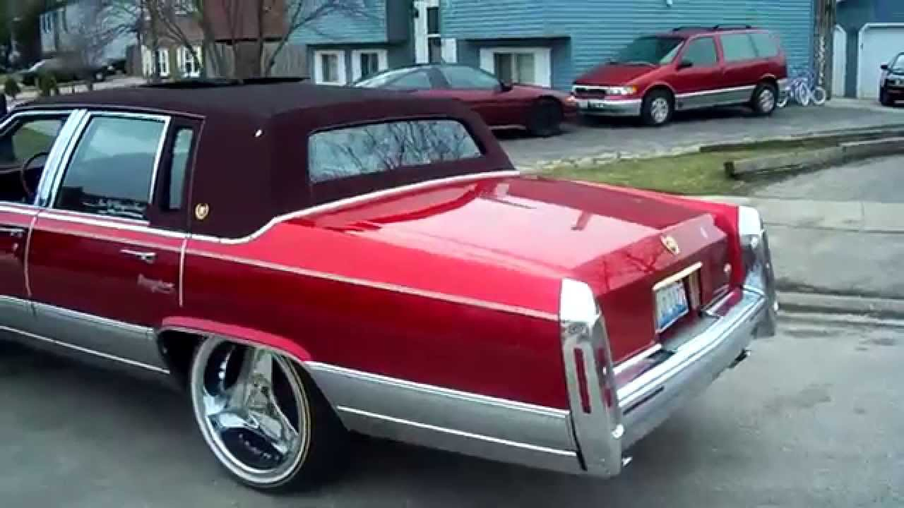 One Of Chicago S Finest Kandy Cadillac Fleetwood Brougham