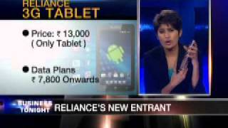 Reliance launch new 3G Tablet