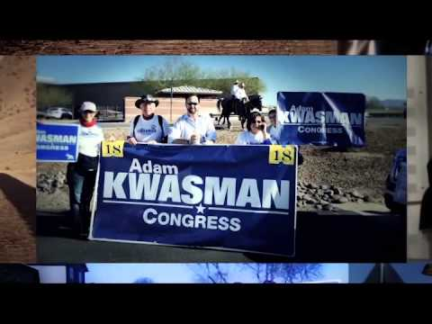 Emerging  Kwasman for Congress