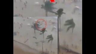 Top Trending Portal - Tornado in Brazil Beach was caught on the video