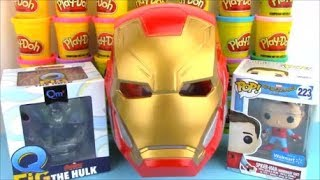 Full Avengers Infinity War Movie Surprise Egg with Ironman