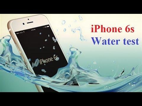 Apple iPhone 6S Waterproof Test and review,100% Waterproof