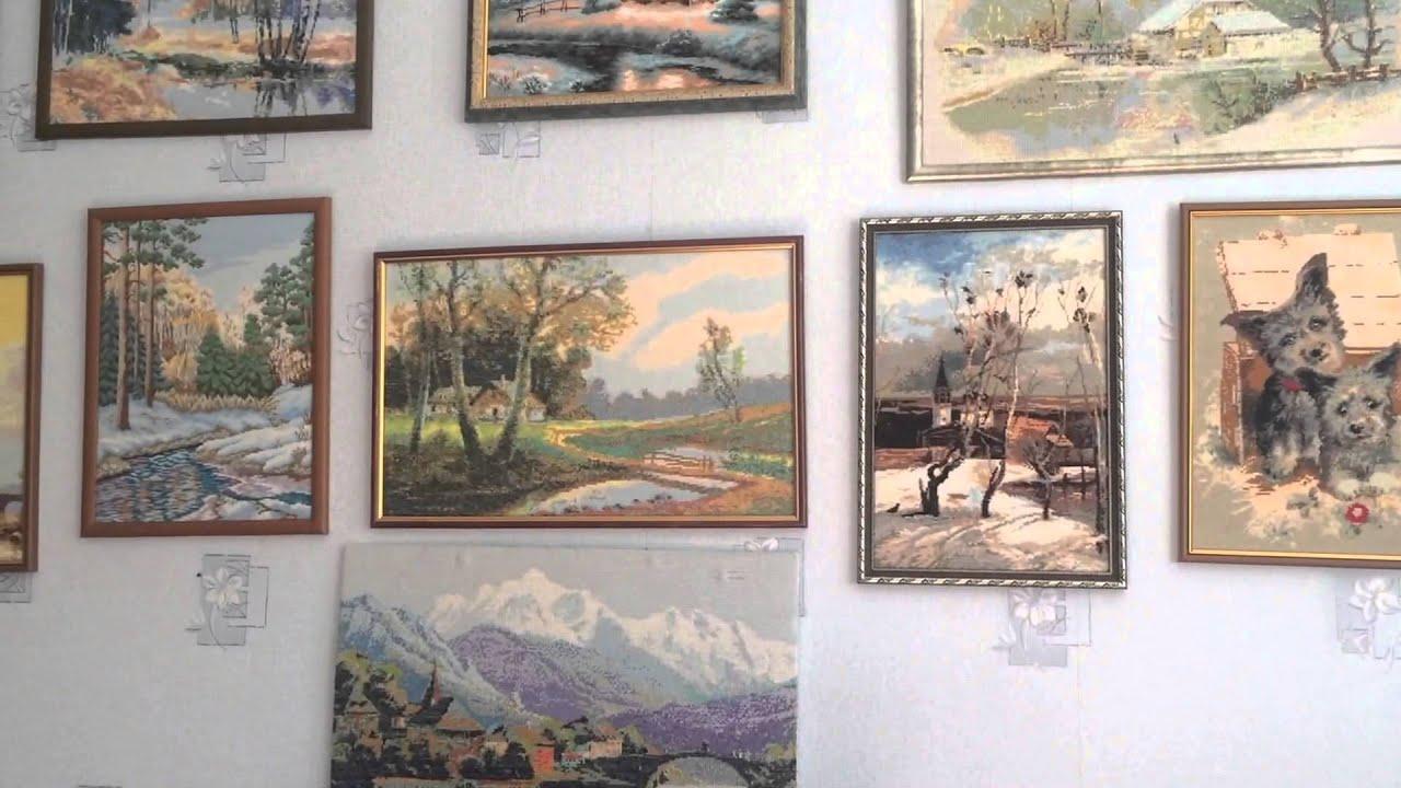 Вышивка крестом выставки готовых работ 68