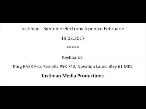 Iustinian - Simfonie electronică pentru Februarie