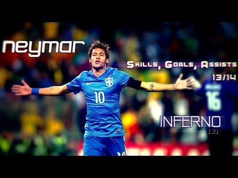 Neymar - Best Skills, Goals, Assists - 2014