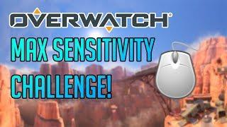 MAX SENSITIVITY CHALLENGE!   Dansk   Overwatch