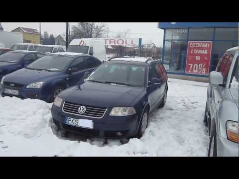 VW Passat 1.9 TDI 130 KM 2004. Prezentacja.