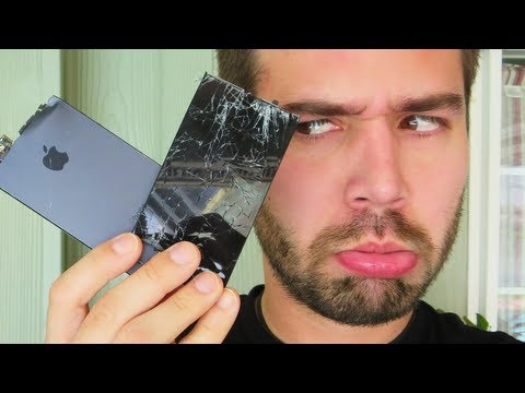 SMASHED MY iPHONE! (5.9.13 - Day 1470)