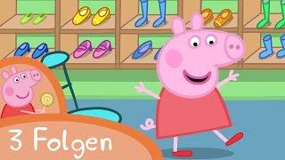 Peppa Pig Deutsch 🇩🇪 | Einkaufen und mehr! - Zusammenschnitt (3 Folgen) | Peppa Wutz #PPDE2018