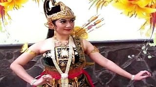 ARJUNA Bambangan Cakil - Javanese Dance Costume & Make Up - Kostum Rias Tari Jawa [HD]