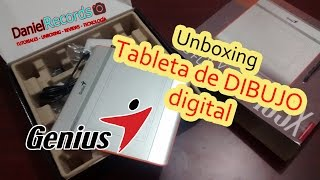 Unboxing de Tableta de Dibujo Digital Genius