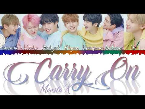 Download MONSTA X 몬스타엑스 - Carry On Color Coded s Kan/Rom/Eng/歌詞 Mp4 baru