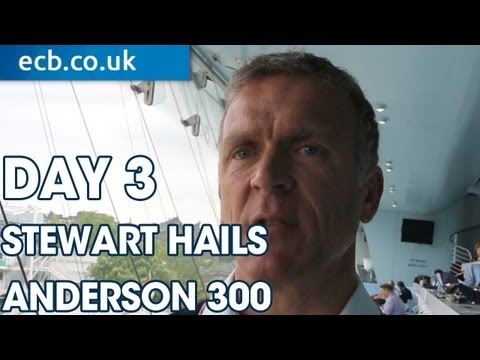 Exclusive: Alec Stewart hails Anderson's 300 wickets
