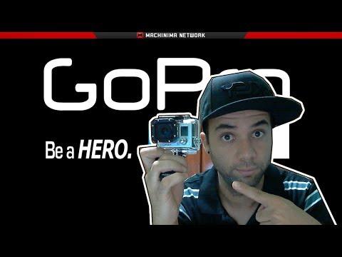 SEMI-UNBOXING - Filmadora GoPro Hero3