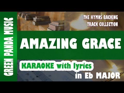 Amazing Grace - Karaoke backing Track From The Hymns Backing Track Collection video