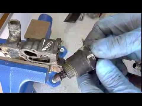 How to Rebuild A Corvette C4 Throttle Body ( IAC Sensor ) - Part 2 of 4
