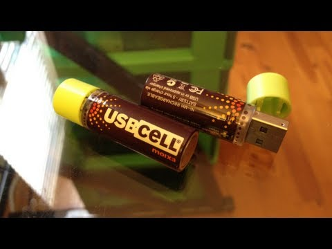 USBCell - USB Rechargeable Batteries Music Videos