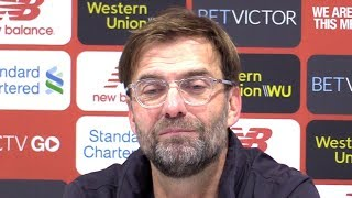 Liverpool 4-3 Crystal Palace - Jurgen Klopp Post Match Press Conference - Premier League