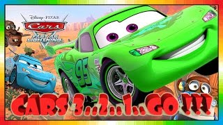 Cars 3 ... 2 ... 1 ... GO !!! ( Cars presentation from game - CARS - FAST AS LIGHTNING )