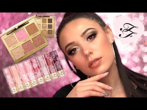 NEW TOO FACED NATURAL LOVE COLLECTION   Natural Bronze Makeup Tutorial   HIT OR MISS   Victoria Lyn