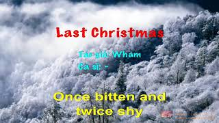 Last Christmas   Karaoke