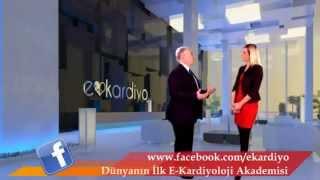Prof. Dr. Ali Oto ve Başak Temel - İlk E-kardiyoloji Akademisi Röportajı www.ekardiyo.com
