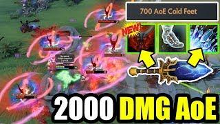 NEW IMBA 7.22 SCEPTER + TREE TALENT = 2000 DMG AoE ! Ability Draft Dota 2