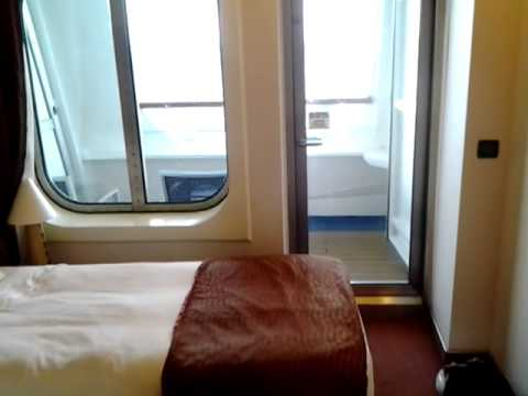 Cove balcony stateroom 2441 Carnival Magic