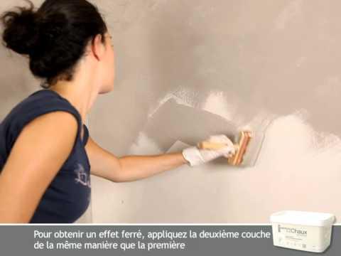 Peinture la chaux youtube for Couleur de peinture beige