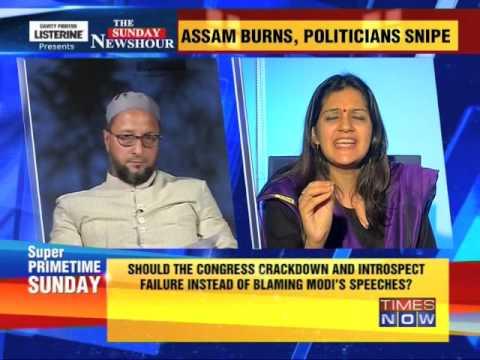 The Newshour Debate: Assam burns, politicians snipe - Full Debate (4th May 2014)