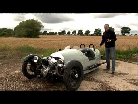 Morgan 3 Wheeler – Fifth Gear Web TV