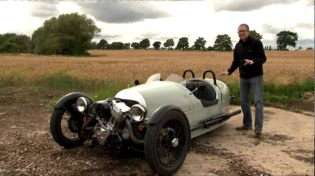 Morgan 3 Wheeler Fifth Gear Web Tv Youtube