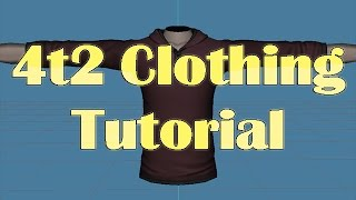 4t2 Clothing Conversion Tutorial