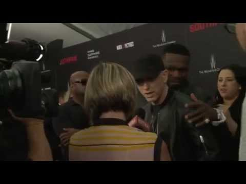 Southpaw: Full Red Carpet Premiere Arrivals - Jake Gyllenhaal, Eminem, 50 Cent, Rachel McAdams