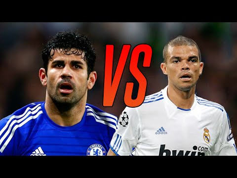 Diego Costa vs Pepe ● Violent Moments ● Who Would Win in a Fight? | HD