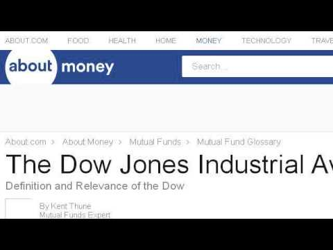 What Does The Dow Jones Average Mean?