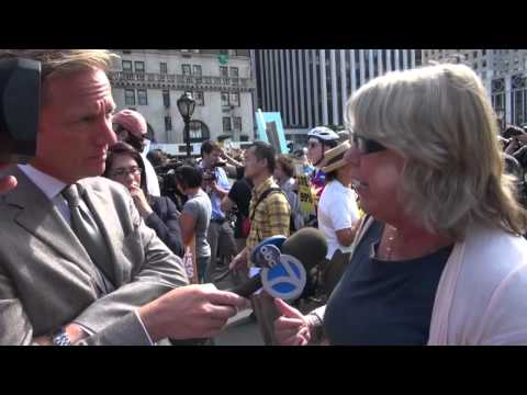 ABC Reporter ambushed by Jerry Rio at the Occupy Wall Street Millionaires March