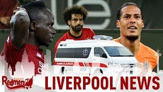 Salah, Mane, Van Dijk & Milner Injury Update | #LFC News LIVE