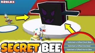 NEW *SECRET* HALLOWEEN BEES IN BEE SWARM SIMULATOR?! (Roblox Bee Swarm Simulator Halloween Update)
