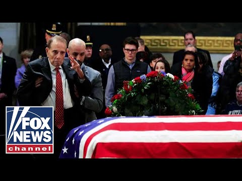 Bob Dole opens up about his final salute to George Bush