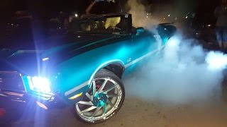 "Veltboy314 - Vert 442 On 26""s & ZL1 Box On 26""s Burnouts - Naptown Circle City Classic Weekend 2016"