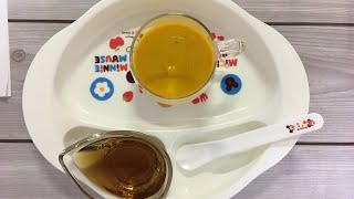 Món bí đỏ trộn sữa bổ dưỡng cho bé ăn dặm 5m-6m-ăn dặm kiểu nhâtj