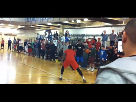 Kyrie Irving Embarassing Kids at Montclair State University FULL GAME Crazy Handles and Moves