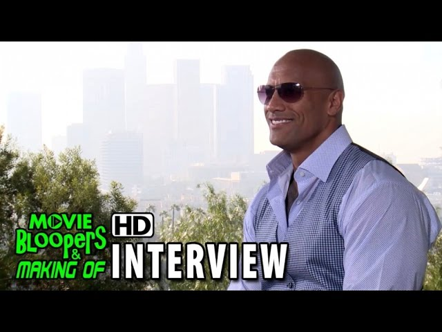Furious 7 (2015) Official Movie Interview - Dwayne Johnson